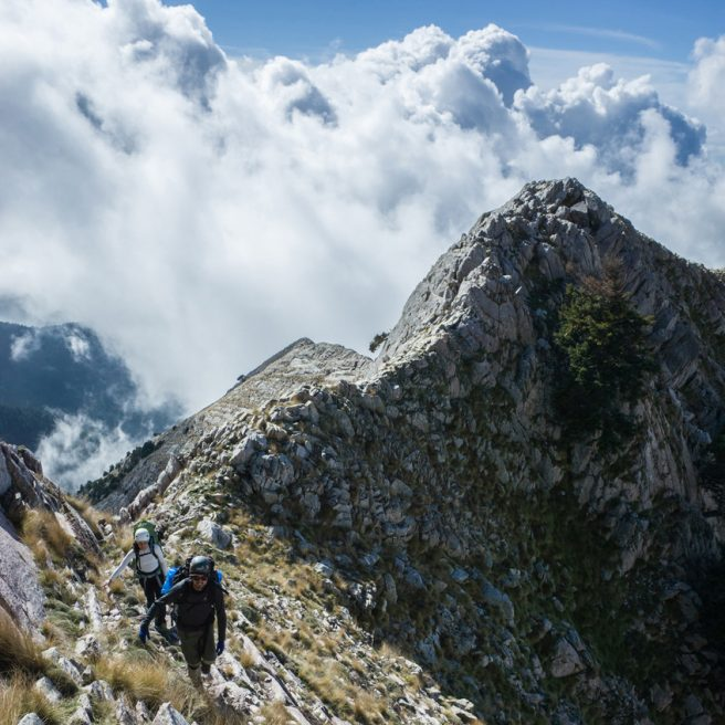 Taygetos: Gaitses – Kokkinovouni – Halasmeno / return via Ridomo Gorge.